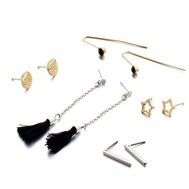 10 Pcs Women Earring Set