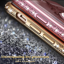 KISSCASE Rhinestone Case with Ring Stand