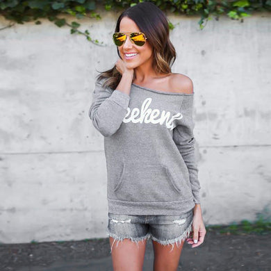 'Weekend' Sweatshirt