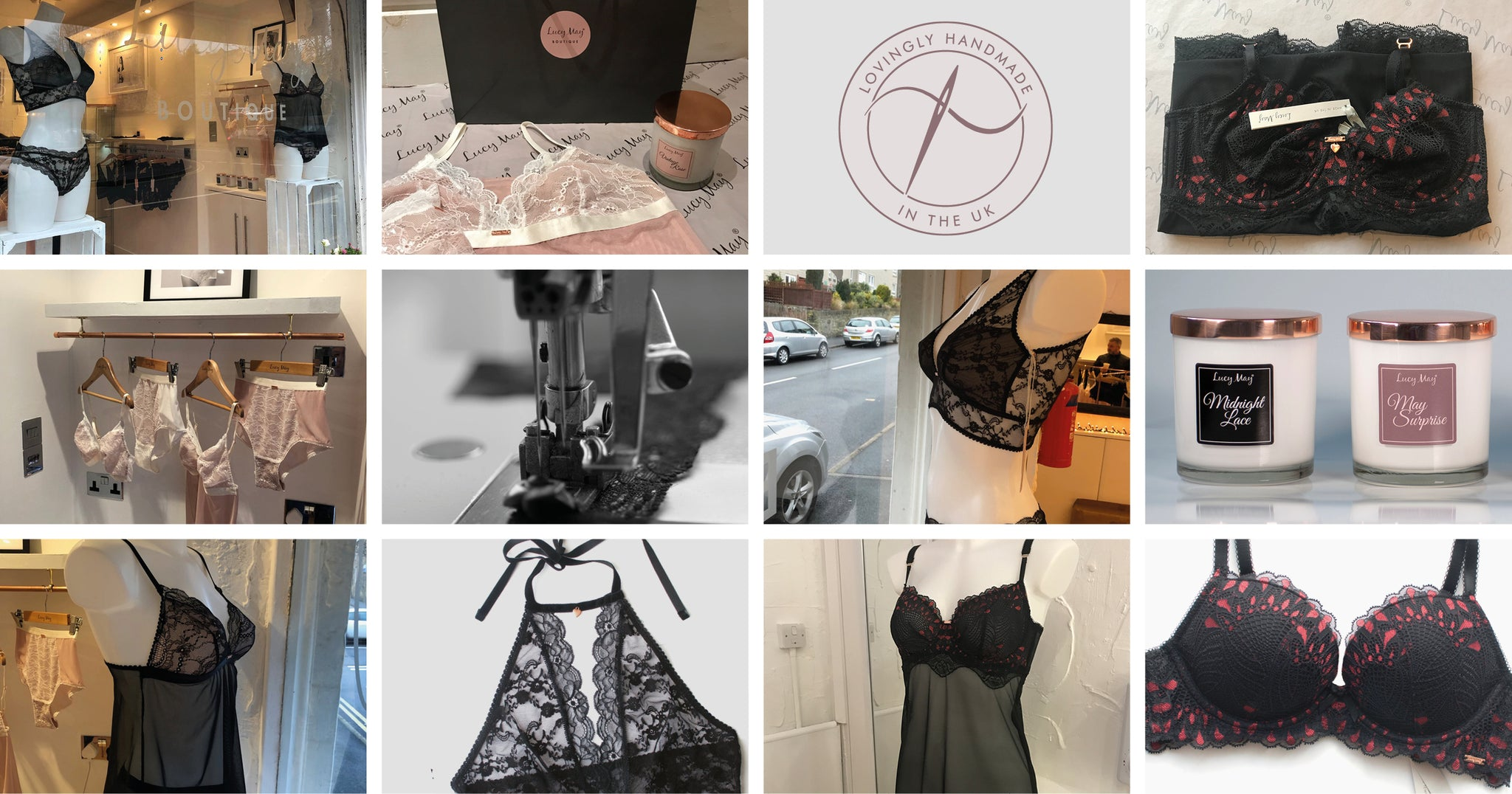 £30 lingerie fitting and consultation (with £30 to spend in the Lucy May Boutique)