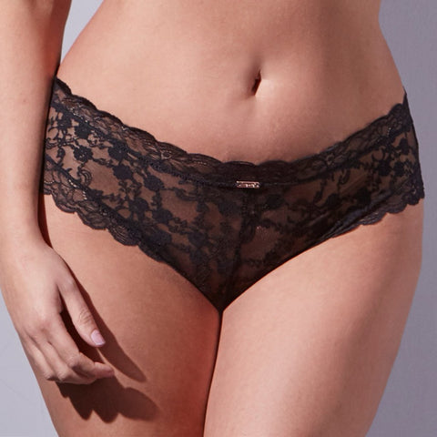 Midnight Lace Brazilian Brief