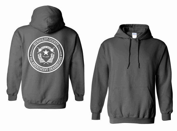 Humboldt County 2nd Amendment Grassroots - Unisex 50/50 Heavyweight Hoodie
