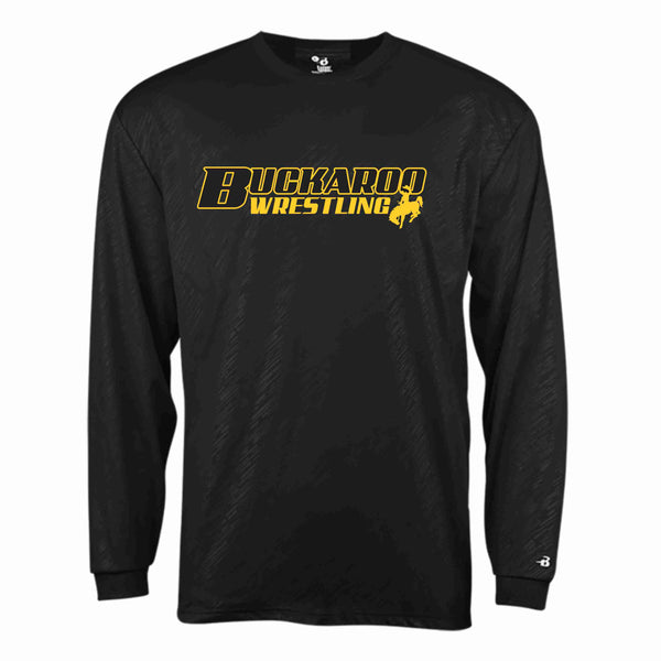 Buckaroo Wrestling - Line Embossed Long Sleeve Tee