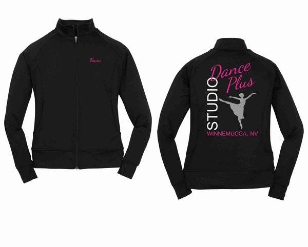 Personalized Dance Plus Studio Sport-Tek® Ladies NRG Fitness Jacket