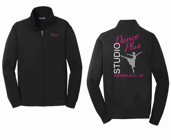 Personalized Dance Plus Studio Sport-Tek® Youth Sport-Wick® Fleece Full-Zip Jacket