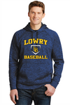Lowry Baseball 2019 Sport-Tek PosiCharge Electric Fleece Hooded Pullover
