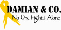 Damian & Co. No One Fights Alone - Fundraiser Hoodie