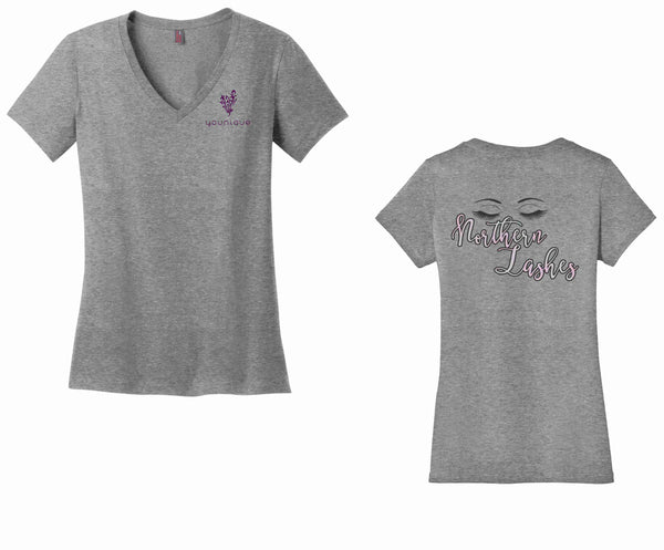 Younique Northern Lashes District Made® Ladies Perfect Tri® V-Neck Tee