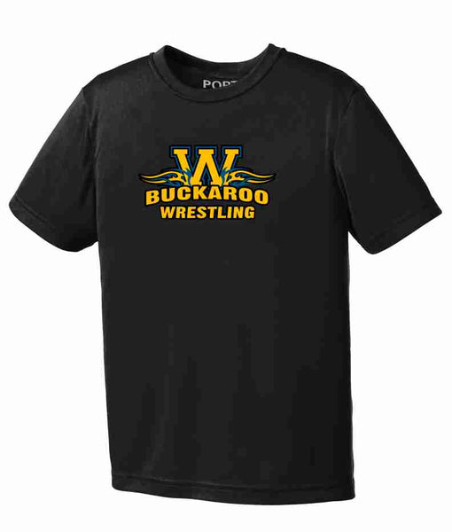 Buckaroo Wrestling Port & Co Performance Tee