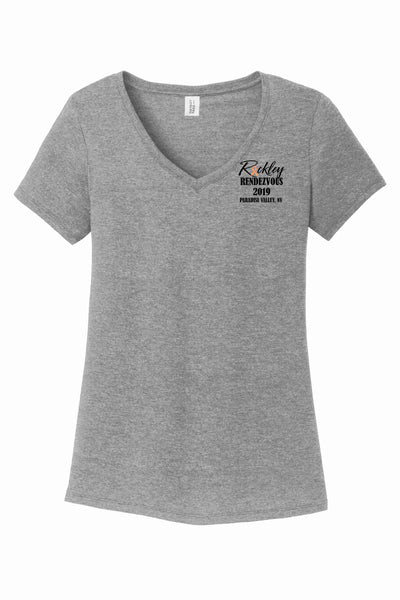 Rackley Rendezvous 2019 District Made® Ladies Perfect Tri® V-Neck Tee
