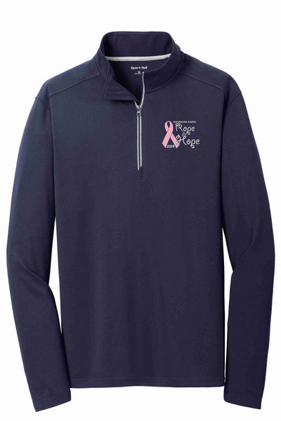 10th Anniversary Rope For Hope Textured 1/4-Zip Pullover 2019