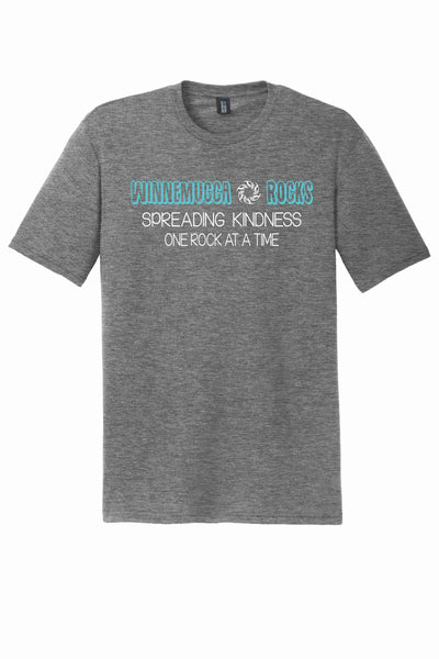 Winnemucca Rocks District Made® Perfect Tri® Crew Tee, Ladies Fit Crew Tee, Ladies Fit V-Neck or Ladies Fit Racerback Tank Top