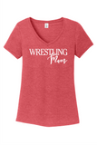 Wrestling Mom - District ® Women's Perfect Tri ® V-Neck Tee