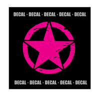 Jeep Star - {Decal} - Small