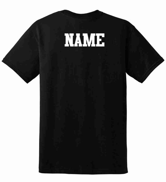 Add A Name To The Back Of A Shirt {Add On Item}