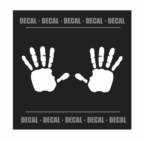 Jeep Hand Wave Decal Pair