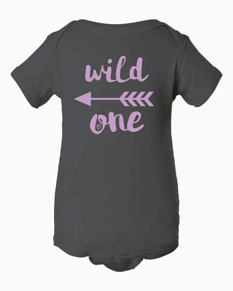 Wild One Infant Short Sleeve Bodysuit