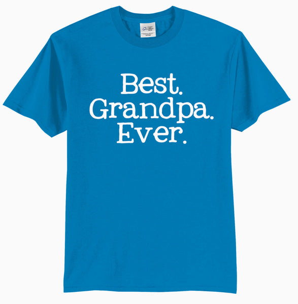 BEST GRANDPA EVER {Grandpa Shirt} {Father's Day Gift} {Grandpa Gift}
