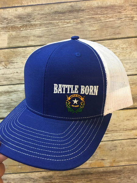 Battle Born Nevada SnapBack Trucker Cap