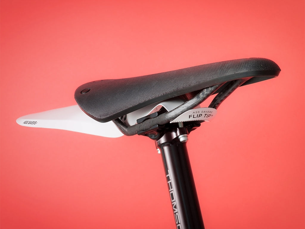 ASS SAVERS Fishbone for Alley Cats Regular Black Mudguard Bicycle Fender