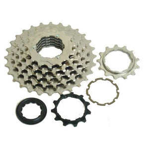 Shimano 7-speed cassette