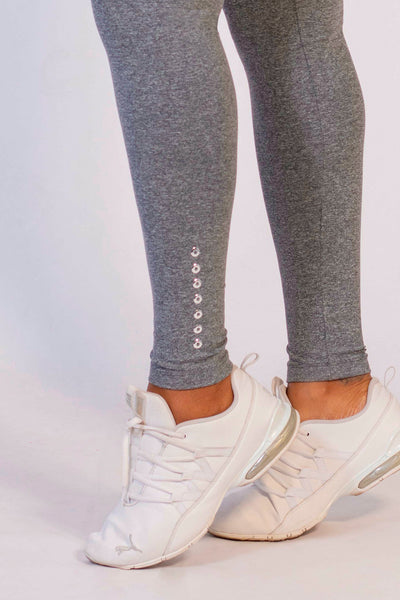 Bottoms Heather Grey Oasis High Up Legging - Womens Activewear and Workout Clothes | RomanceUSA