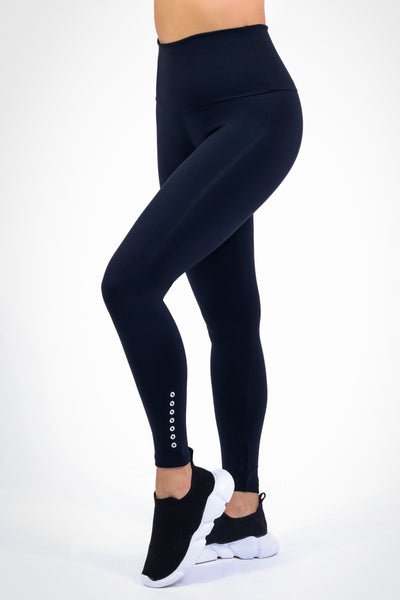 Bottoms Oasis High Up Legging in Black - Womens Activewear and Workout Clothes | RomanceUSA