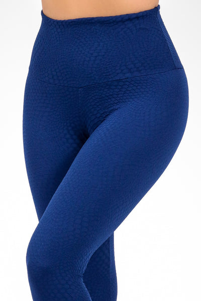 Bottoms Navy Atomic High Up Legging - Womens Activewear and Workout Clothes | RomanceUSA