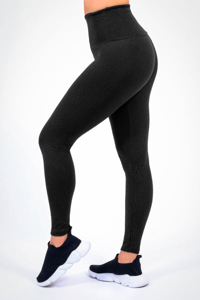 Bottoms Black Atomic High Up Legging - Womens Activewear and Workout Clothes | RomanceUSA