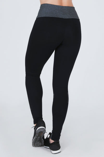 Bottoms Black Cut Legging - Womens Activewear and Workout Clothes | RomanceUSA