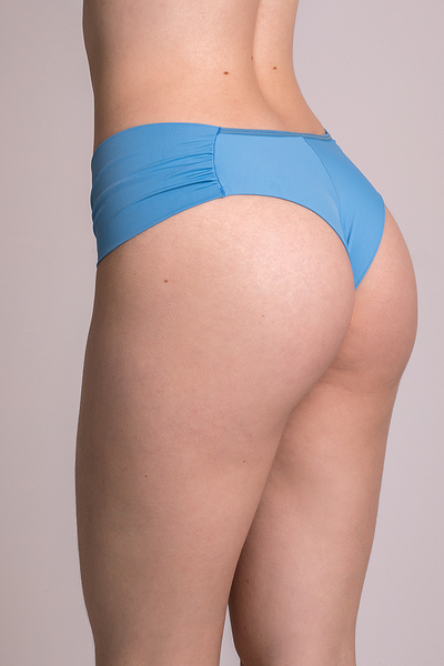Underwear Baby Blue Hiphugger Thong - Womens Activewear and Workout Clothes | RomanceUSA