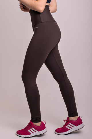 Bottoms,Brown High Up Legging