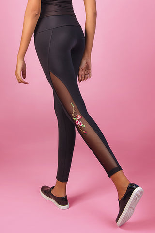 Bottoms,Floral Broderie Legging