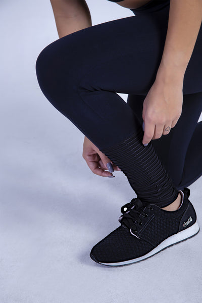 Bottoms Black Sara Detox Legging - Womens Activewear and Workout Clothes | RomanceUSA