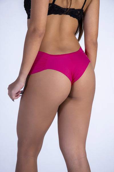 Underwear Pink Hiphugger Thong - Womens Activewear and Workout Clothes | RomanceUSA