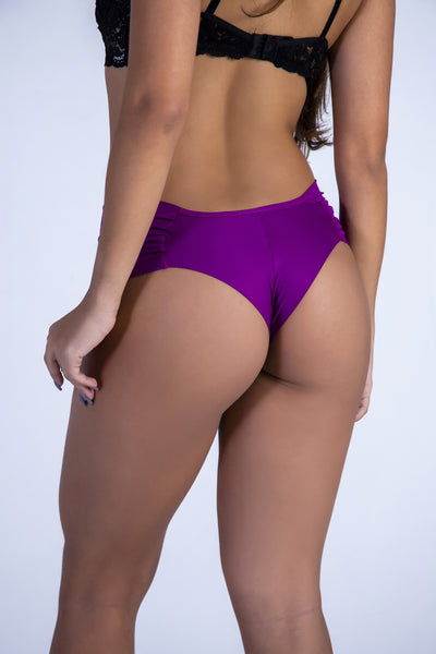 Underwear Purple Hiphugger Thong - Womens Activewear and Workout Clothes | RomanceUSA