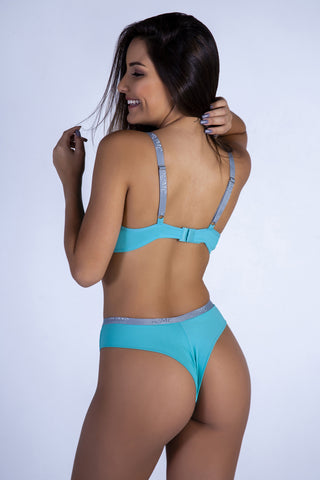 Underwear,Atoll RMC Push-up Bra and Hiphugger Thong