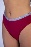 Underwear,Red RMC Push-up Bra and Hiphugger Thong