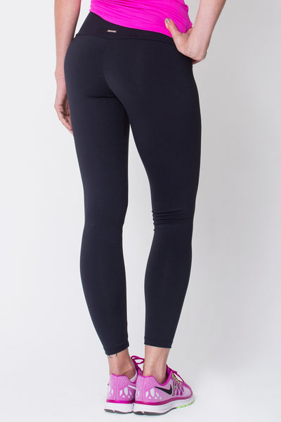 Bottoms Black Active Legging - Womens Activewear and Workout Clothes | RomanceUSA