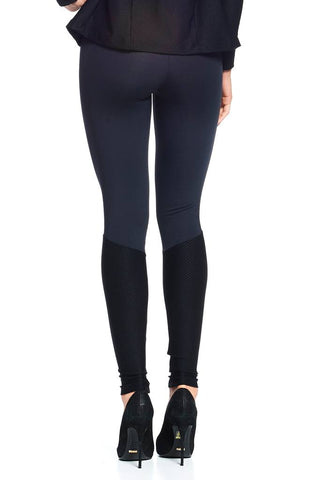 Bottoms,Black Back in Action Legging