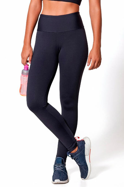 Bottoms Black Basic Legging - Womens Activewear and Workout Clothes | RomanceUSA