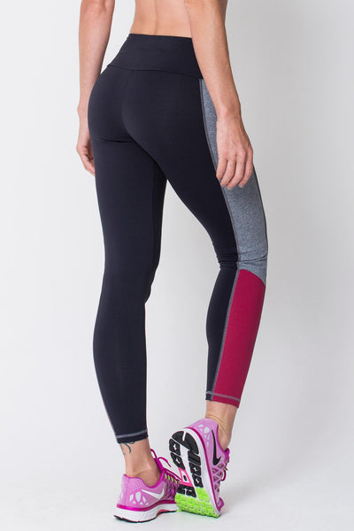 Bottoms Black Contrast Legging - Womens Activewear and Workout Clothes | RomanceUSA