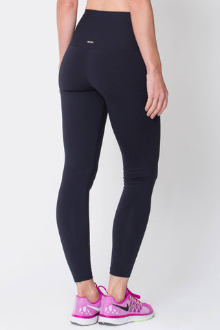 Bottoms,Black High Up Legging