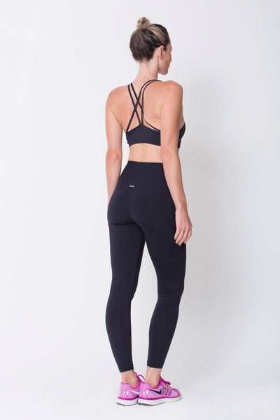 Bottoms Black High Up Legging - Womens Activewear and Workout Clothes | RomanceUSA