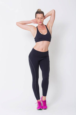 Bottoms,Black Viva Legging