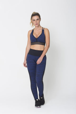 Bottoms,Blue Keep Balance Legging