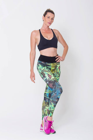Bottoms,Botanical Print Leggings