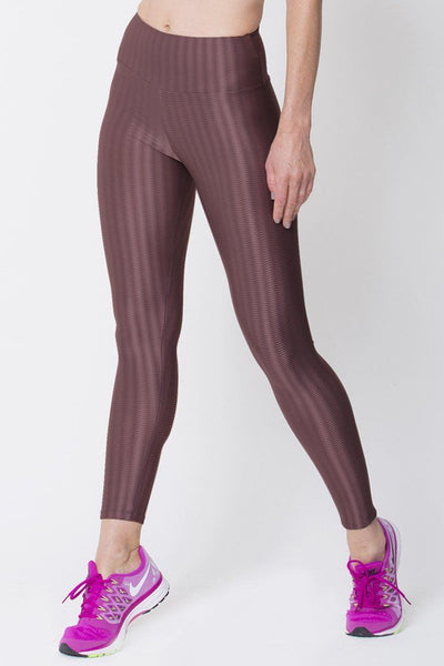Bottoms Brown 3D Disco Leggings - Womens Activewear and Workout Clothes | RomanceUSA