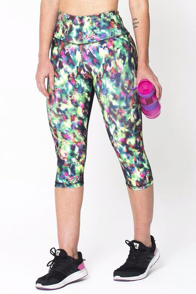 Bottoms Colorful Capri - Womens Activewear and Workout Clothes | RomanceUSA