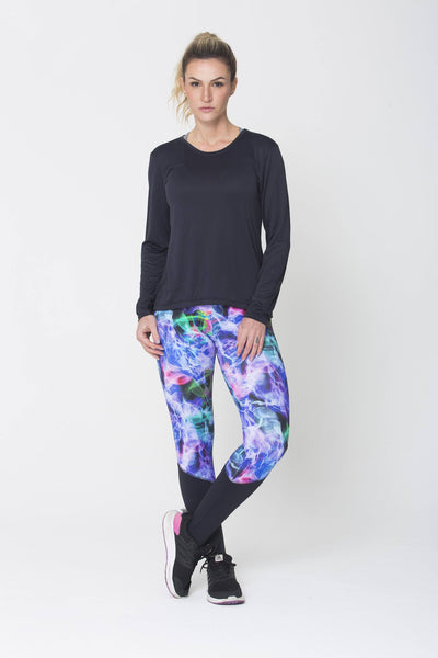Bottoms Eletric Legging - Womens Activewear and Workout Clothes | RomanceUSA